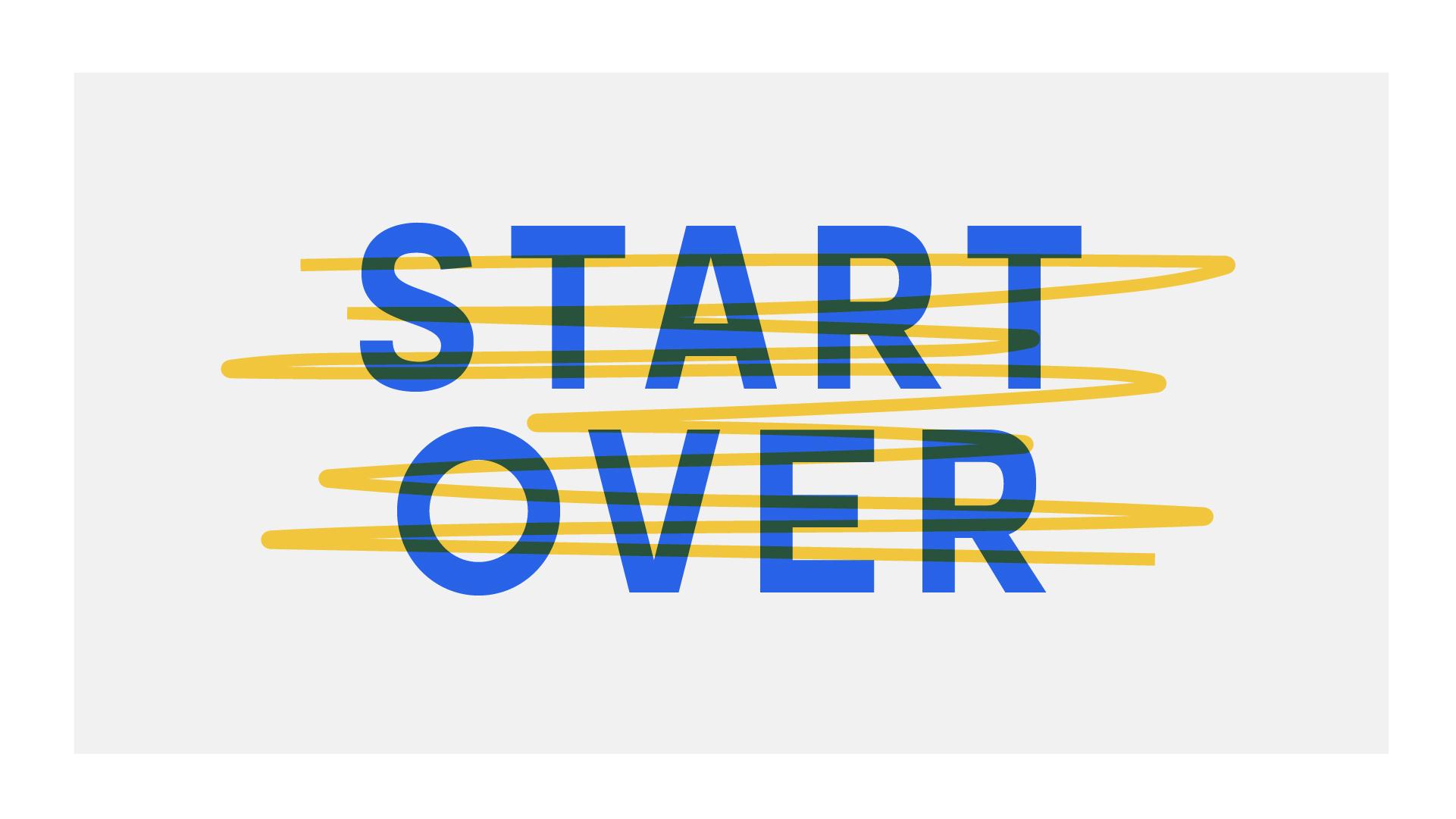 start over vk