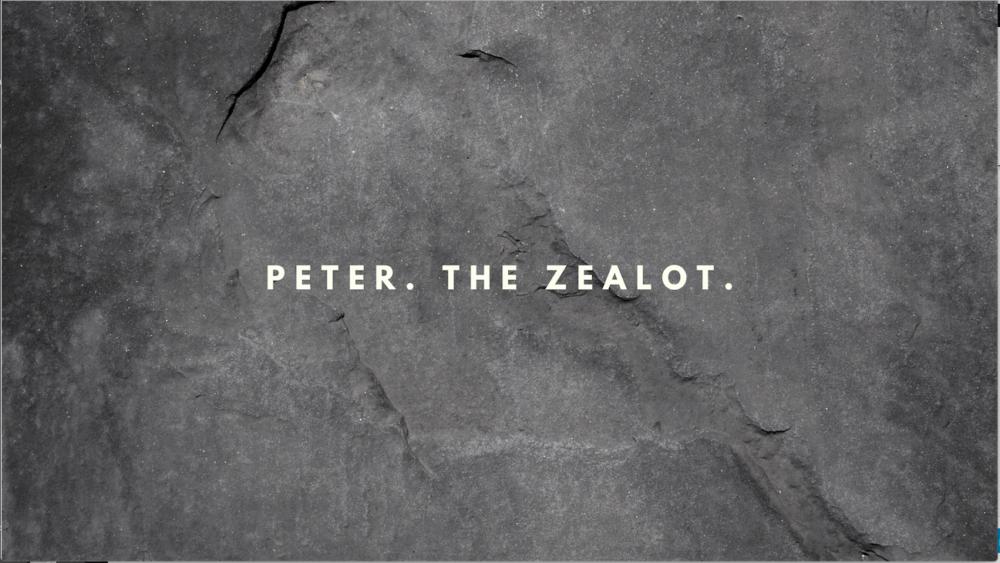 Peter. The Zealot.