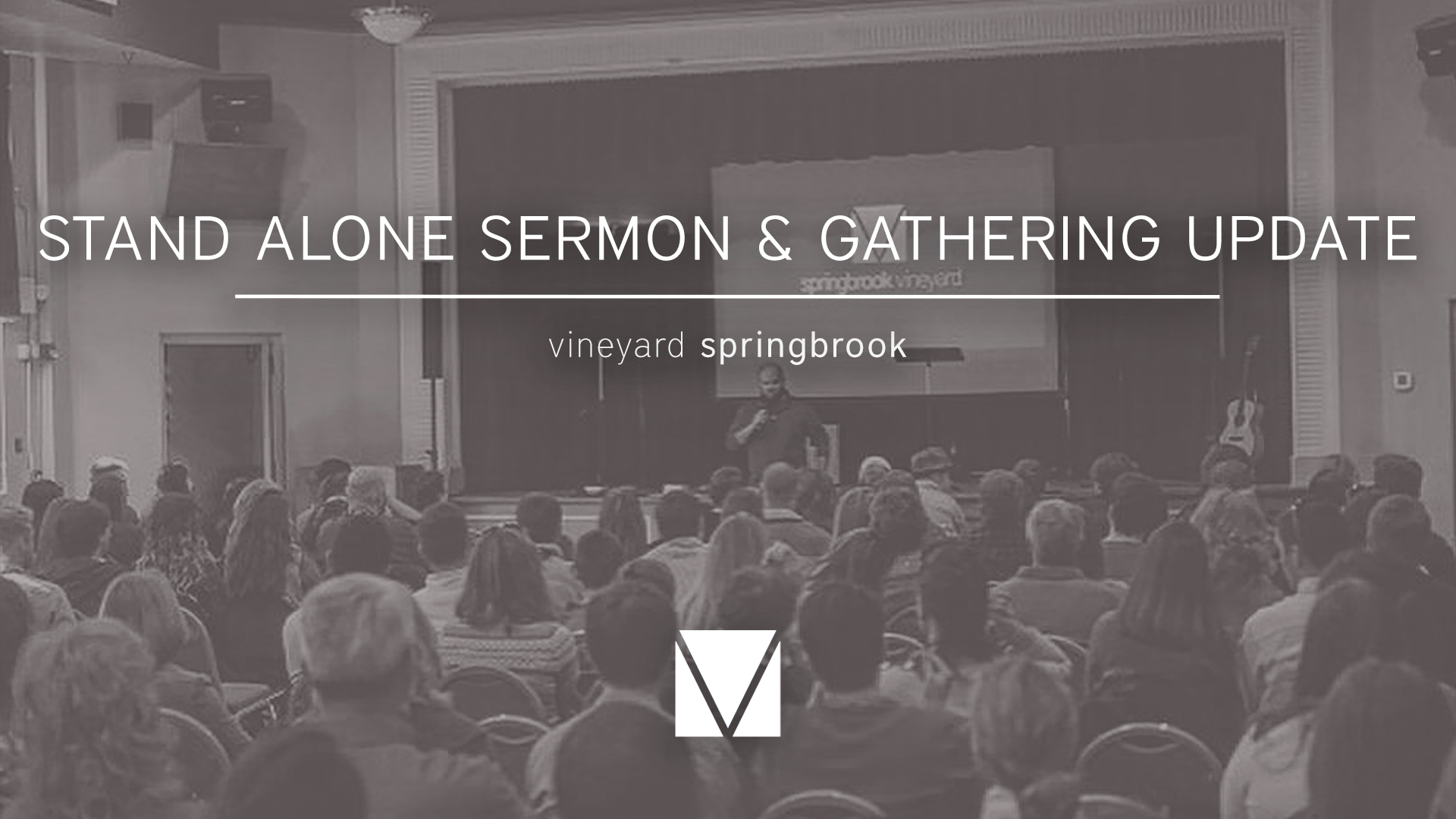 Stand Alone Sermon & Gathering Update