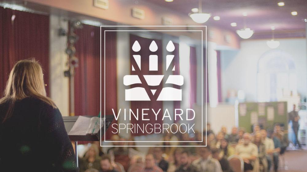 Happy Birthday, Vineyard Springbrook!