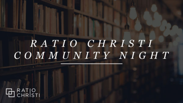 Ratio Christi Community Nights 2021